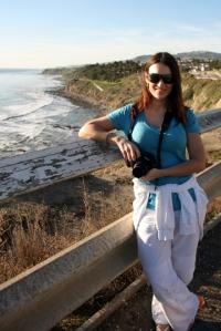 Terika Kons at Point Fermin Park in San Pedro