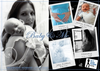 Baby & Me Postcard 2