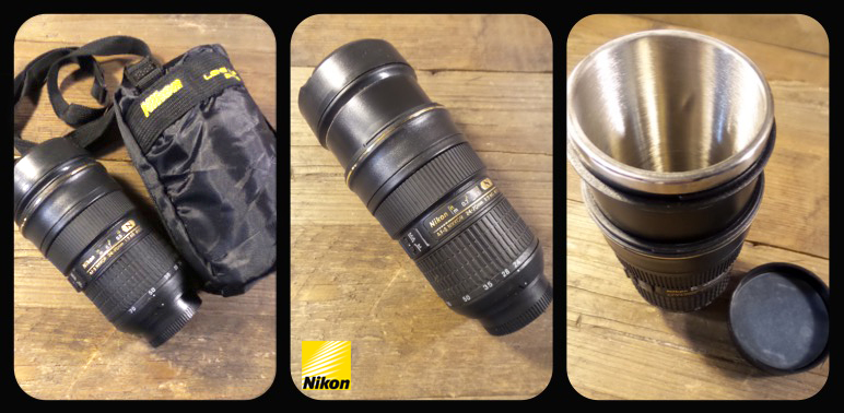 Nikon Lens Coffee Cup Give Away